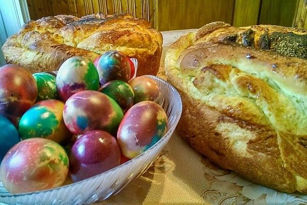 Трапезата на Великден