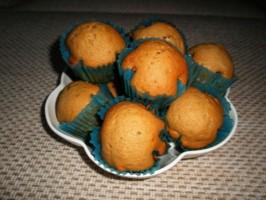 Лесни мъфини с орехи и стафиди